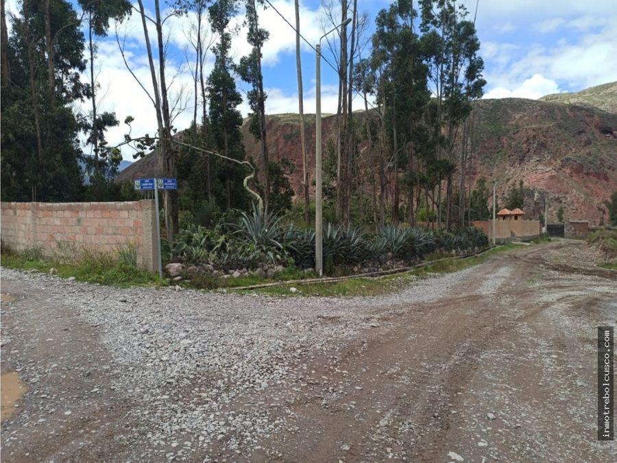 vendo terreno 7000 m2 valle sagrado yanahuara urubamba cusco peru