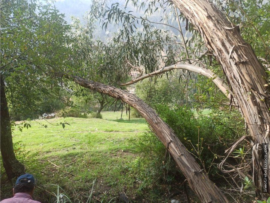 vendo terreno 19200 m2 ollantaytambo cusco peru
