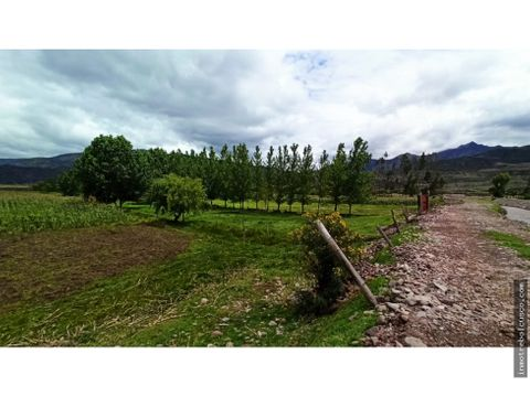 terreno 19050 mt valle de lucre cusco peru