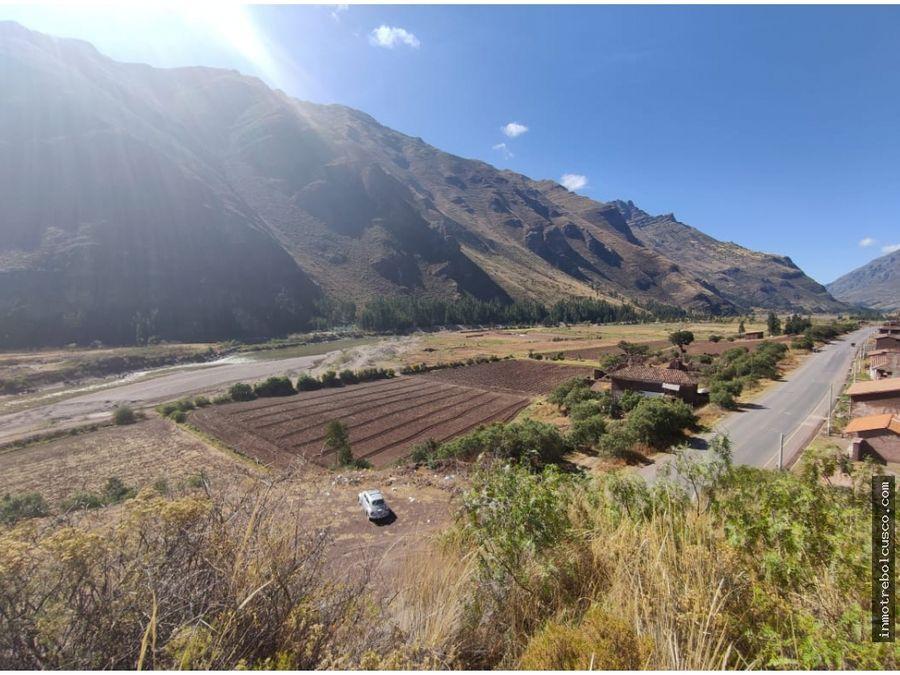 vendo terreno de 8000 m2 valle sagrado pisac cusco peru