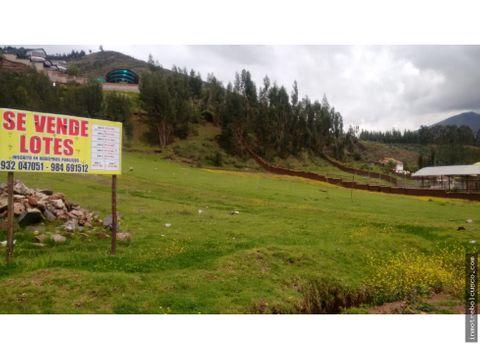 vendo terreno 2500 m vallecito san jeronimo cusco