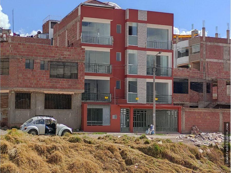 vendo casa 120mt at 450mt ac posada del sol san sebastian cusco
