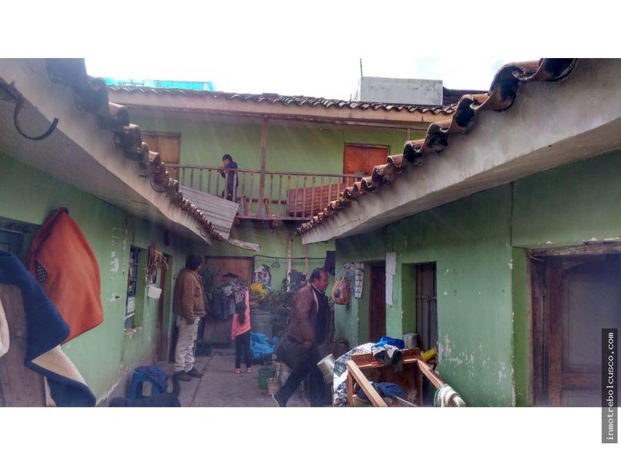 vendo casa lote 170 mt zarzuela cusco peru