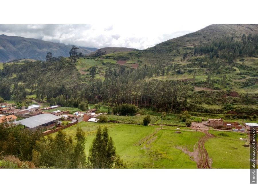 vendo terreno 2500 m vallecito san jeronimo cusco