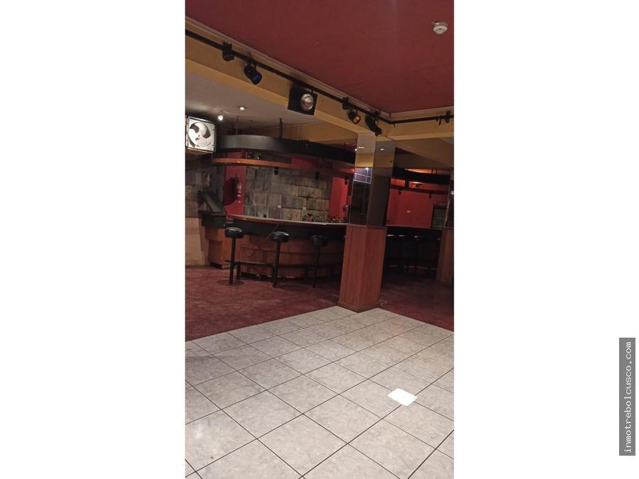 vendo hotel 3 estrellas cecado ciudad de cusco peru