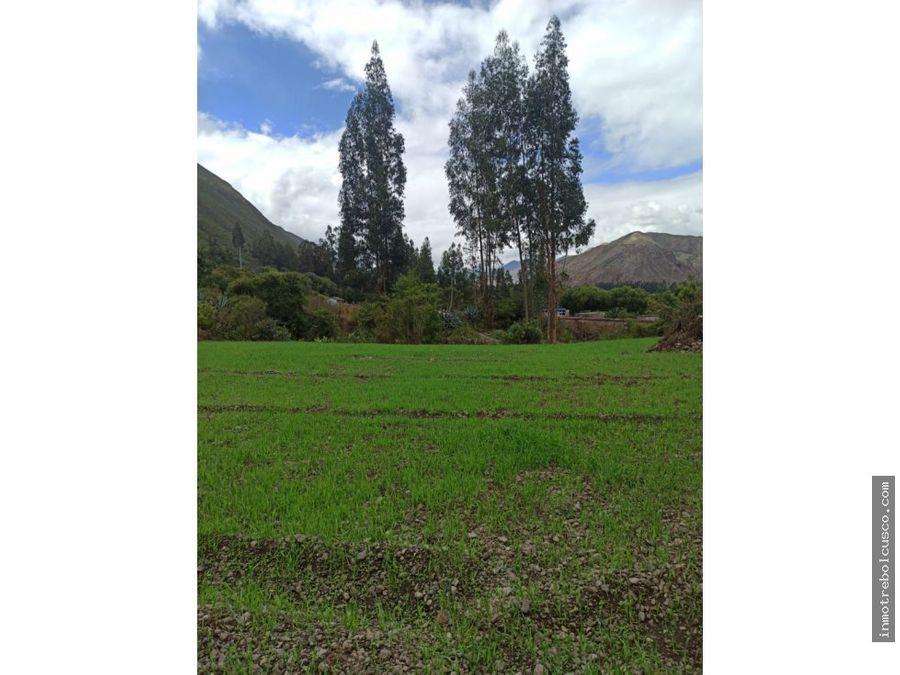 vendo terreno 4980 m2 valle sagrado yanahuara urubamba cusco peru