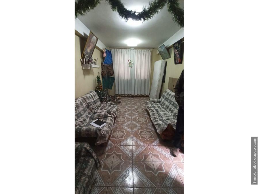vendo casa a 50 metros de la alameda pachacutec wanchaq cusco peru
