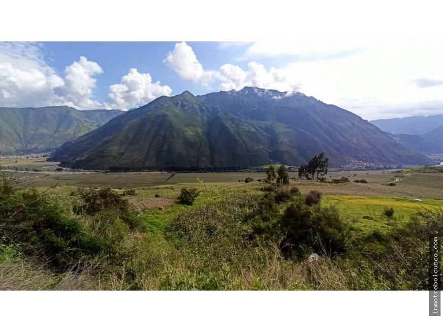 vendo terreno de 3672 m2 valle sagrado de los incas taray cusco peru