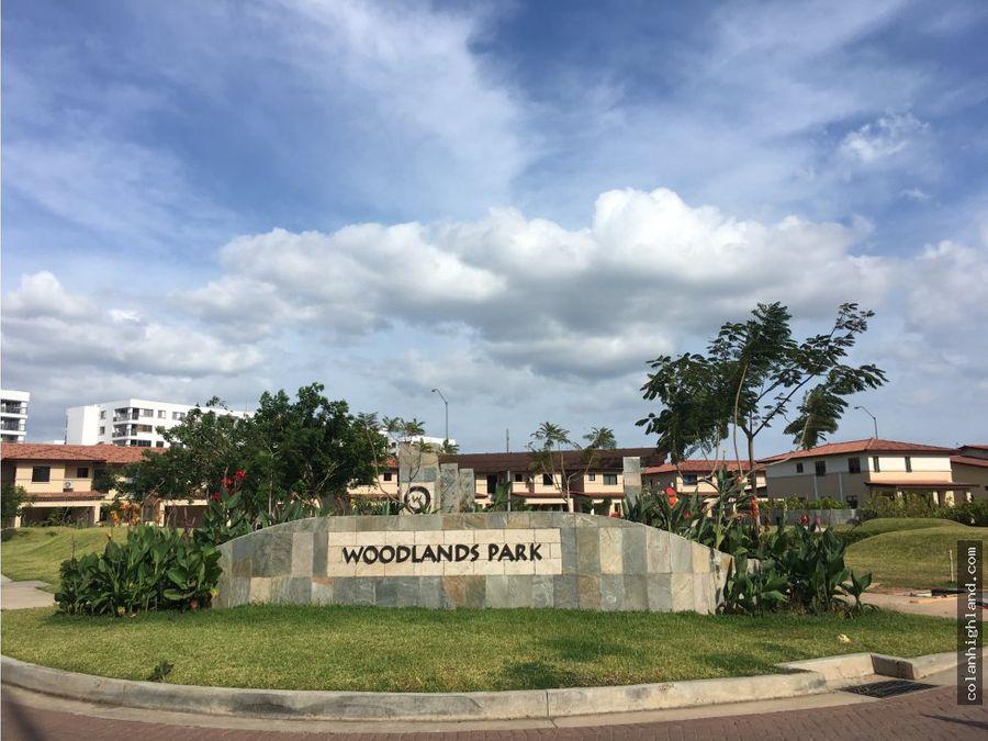 alquiler casa en woodlands panama pacifico