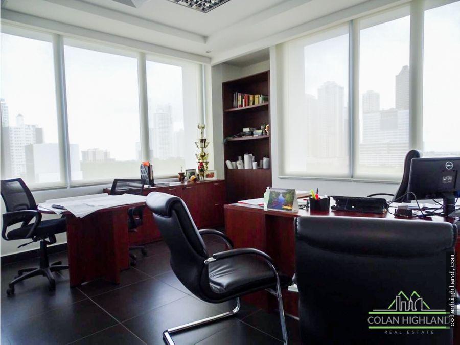 se alquila oficina oficina full amueblada en costa del este