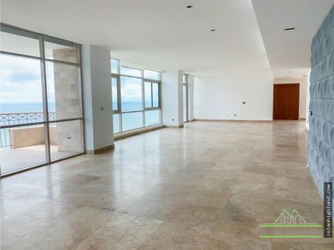 se vende penthouse en ph pacific point punta pacifica