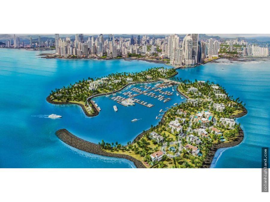 en venta lote de 800 m2 en ocean reef island