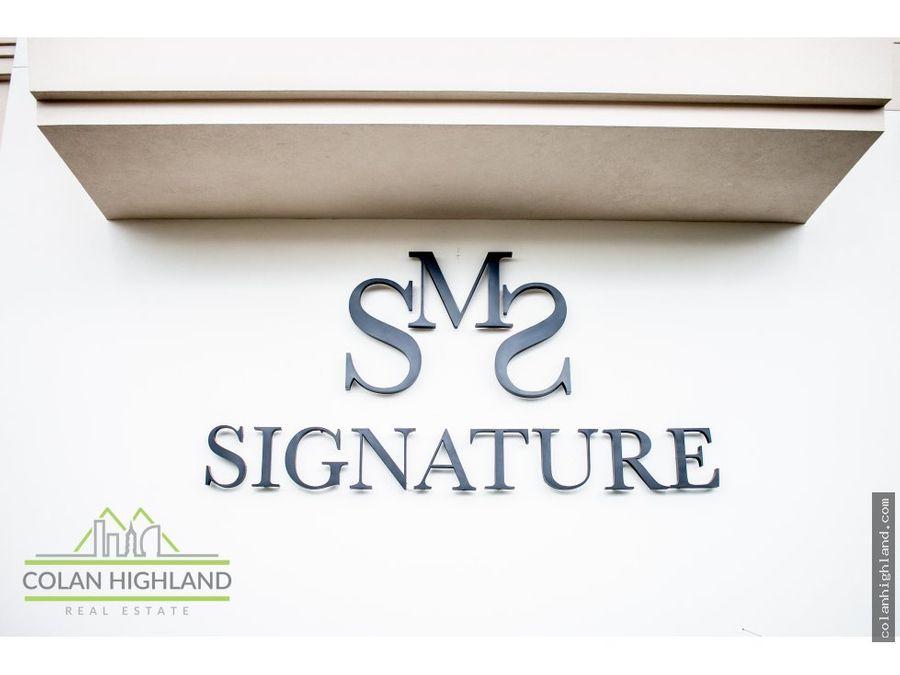 apartamento en venta ph signature santa maria
