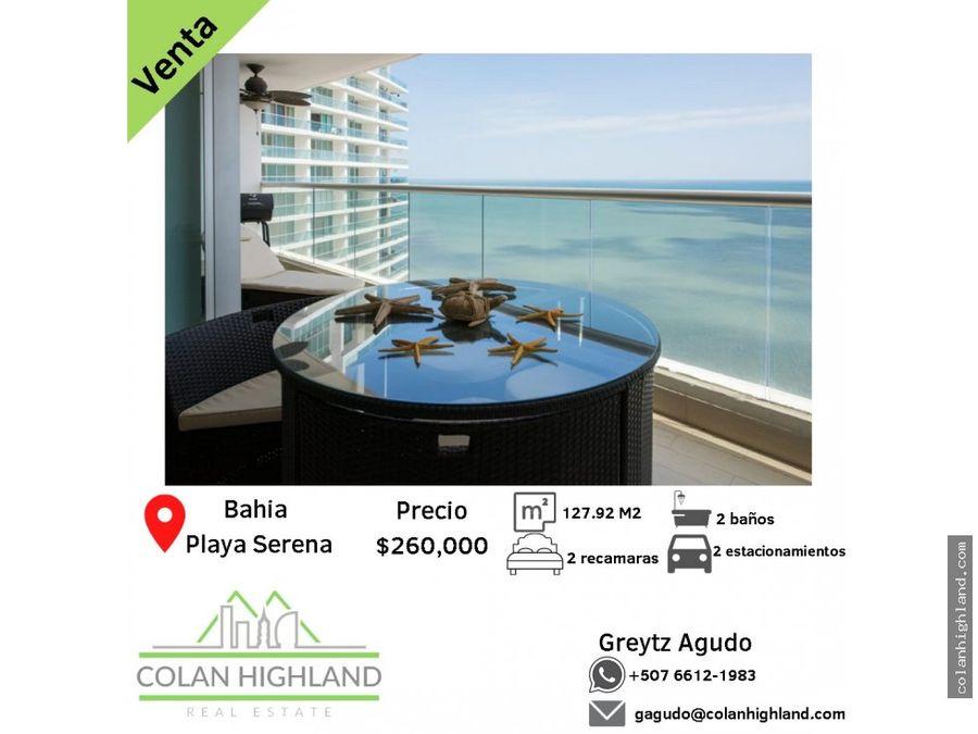 se vende apto en ph bahia gorgona playa serena
