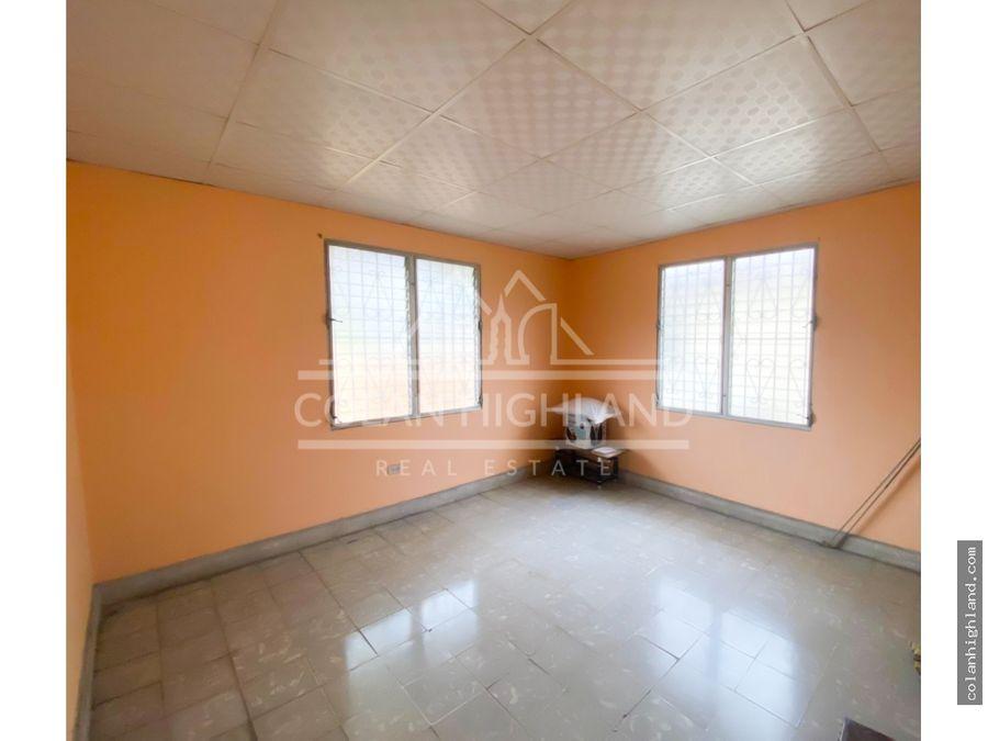 se alquila casa en llano bonito entrada corredor sur