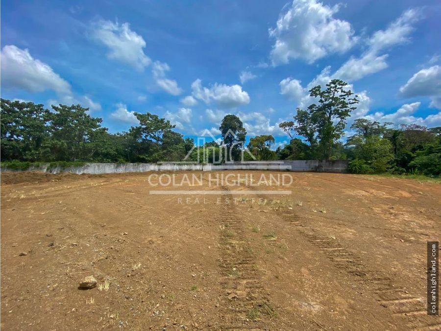 se alquila terreno de 1 hectarea en villalobos pedregal