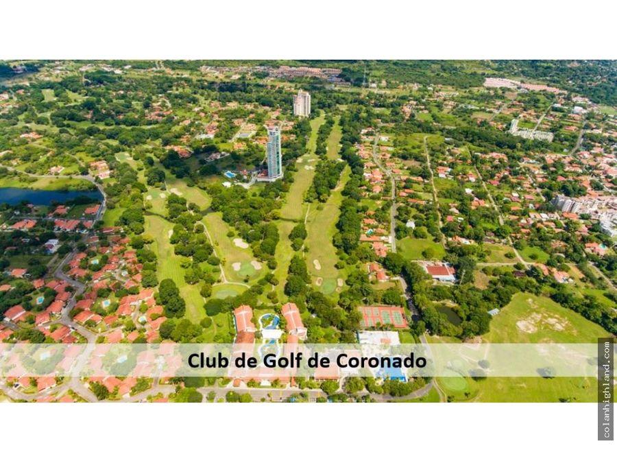 se vende casa en club de golf de coronado