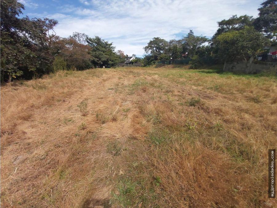 venta de terreno plano en zona de mucha plusvalia escazu
