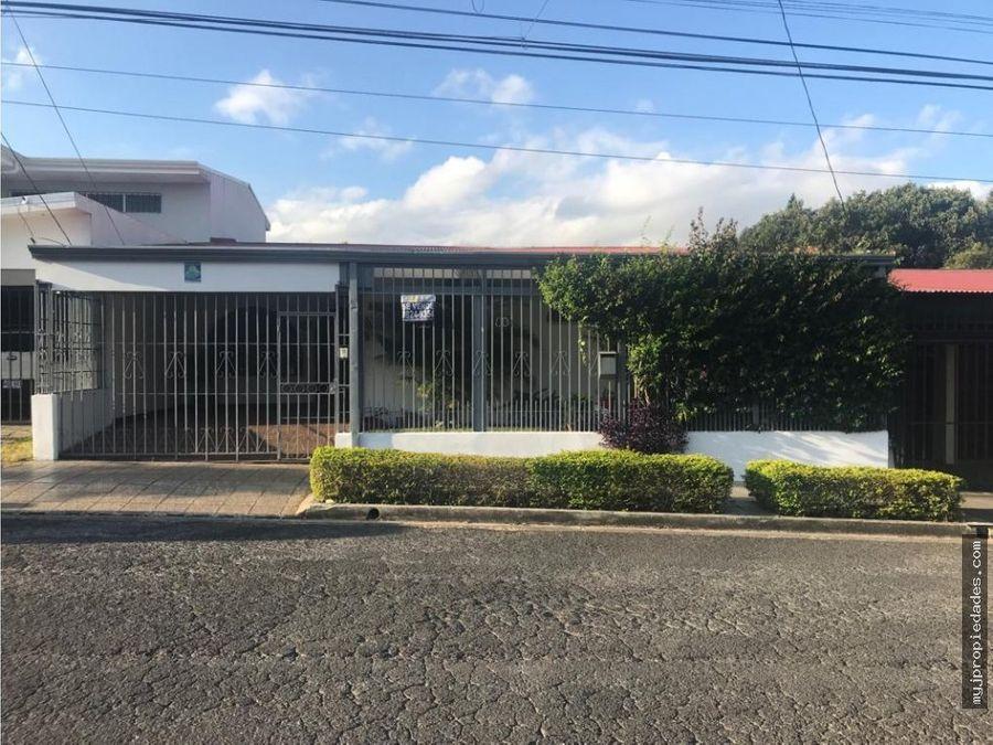 venta de casa 1 planta en sabana sur