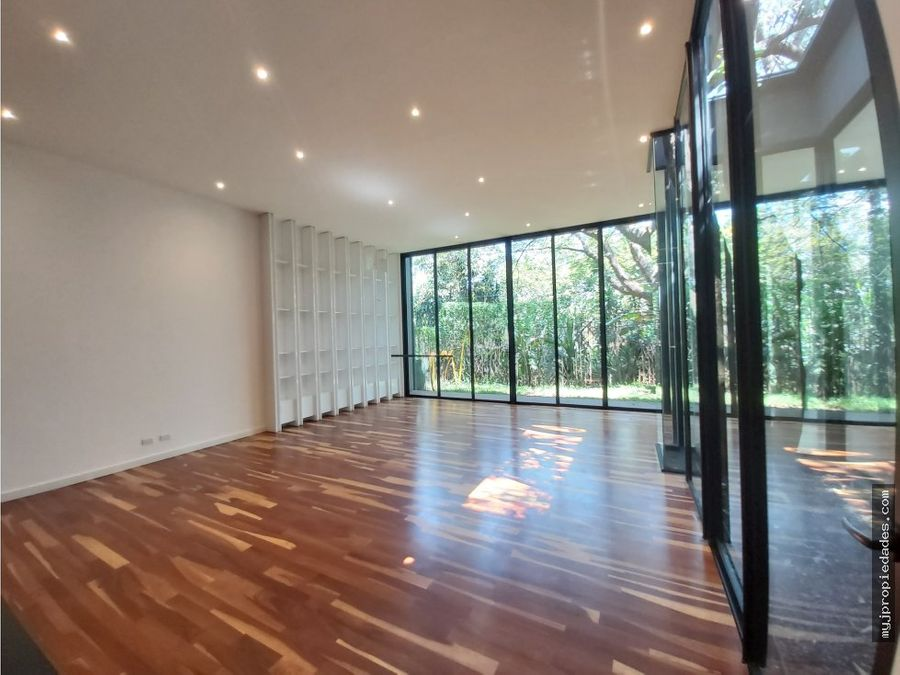 venta casa contemporanea 1 planta para estrenar