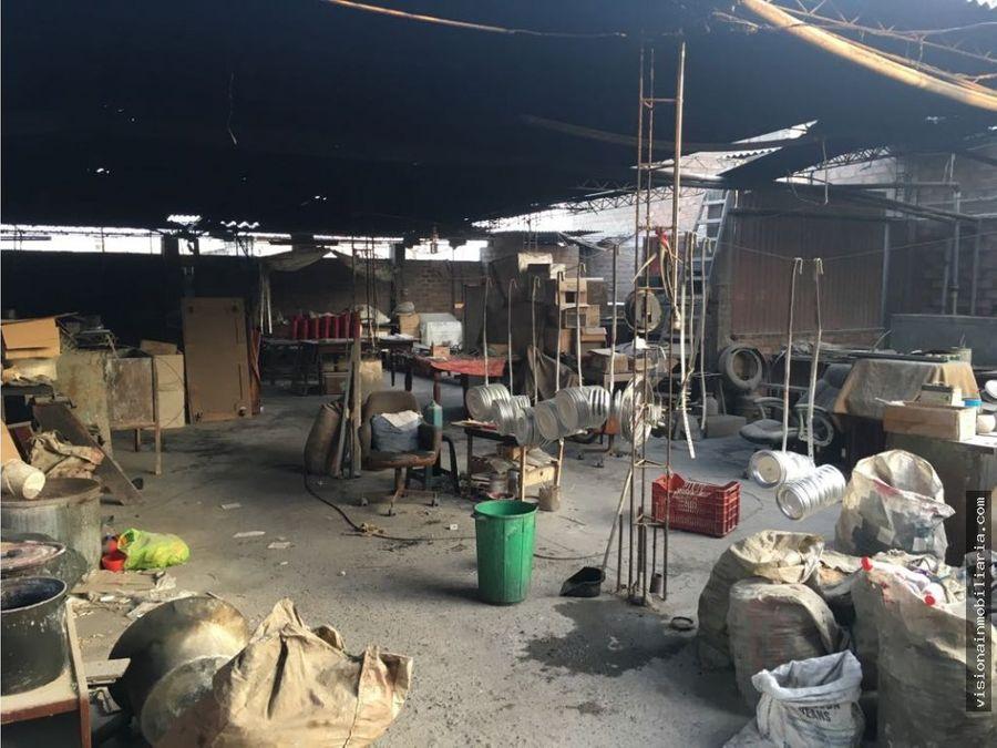 venta de local industrial ubicada en los olivos