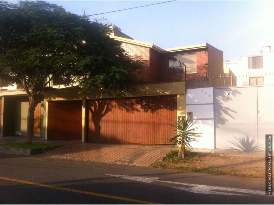 casa urbanizacion santa patricia la molina