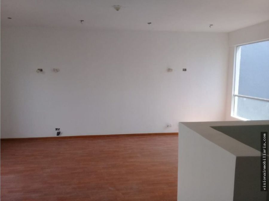 hermoso duplex como oficina en san borja