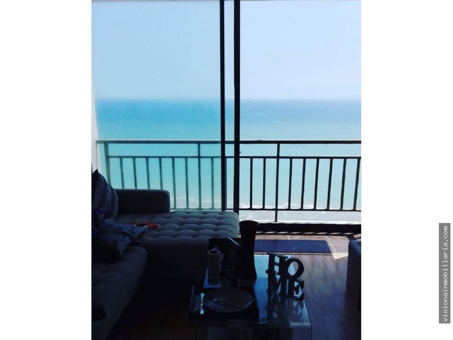 increible departamento con vista al mar