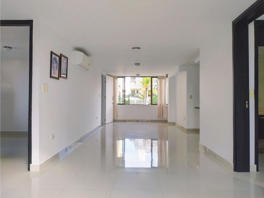 cartagena arriendo apartamento en manga de 3 alcobas