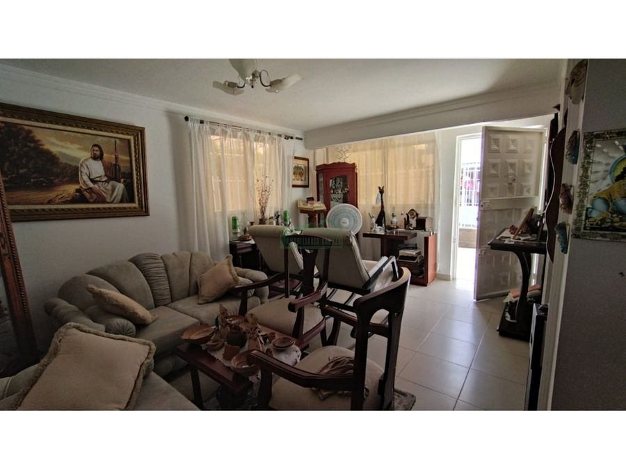 cartagena venta de casa en el recreo de dos piso