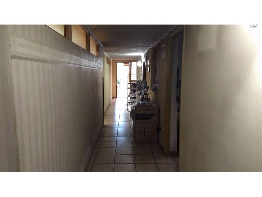 venta casa gran terreno ubicacion comercial pleno centro de los andes