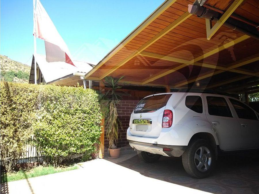 casa 3d 2b en venta villa aurora de chile