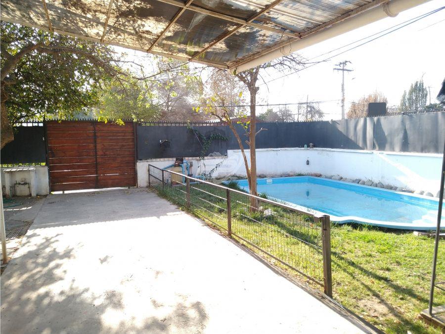 arriendo 2 casas en una 6d 3b piscina y estacionamiento en los andes