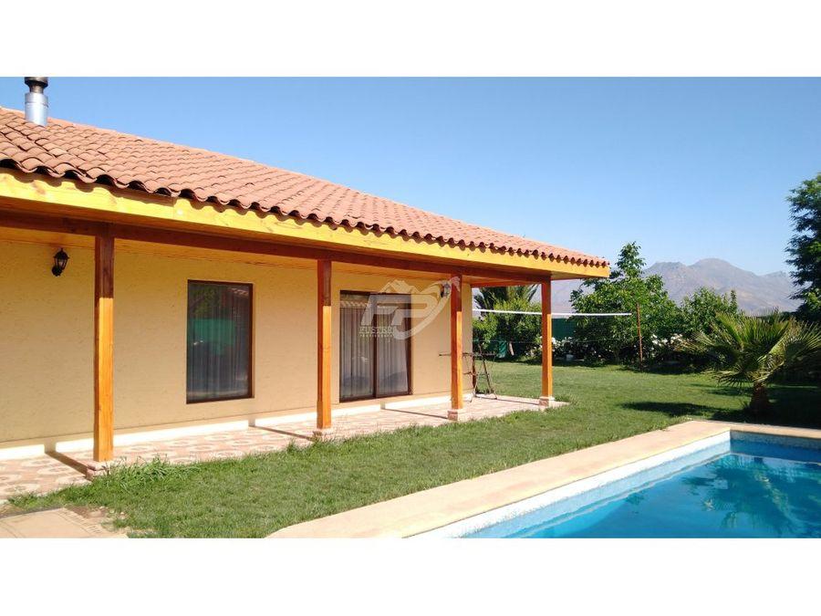 venta de casa 4d 3b piscina cancha volleyball rinconada de los andes