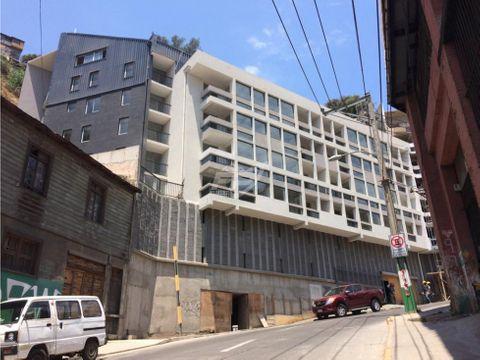 venta de departamento nuevo 2d 2b en edificio francia valparaiso