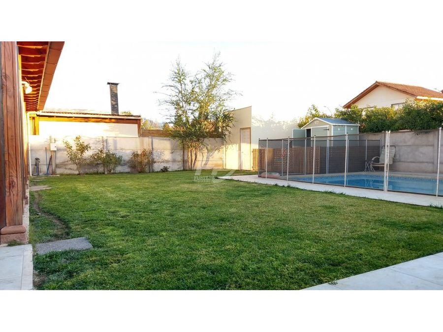 venta casa 4d 3b con piscina y gran terraza en condominio en los andes