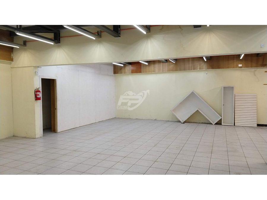 local 400 m2 en mejor calle comercial de los andes