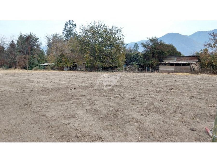 venta terreno 997 m2 rinconada de los andes