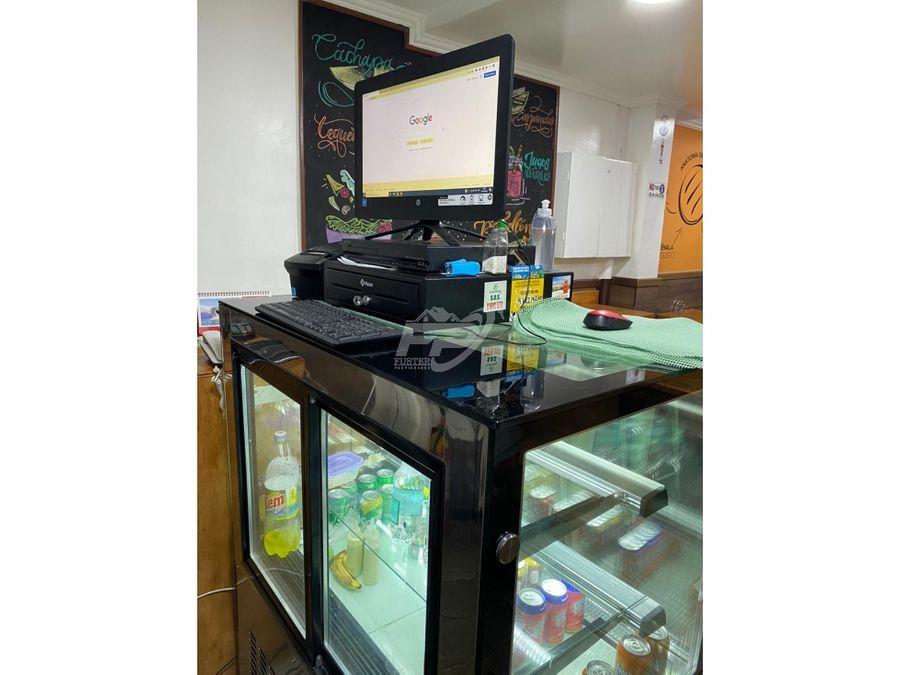 venta derecho de llaves y traspaso de fuente de soda en providencia