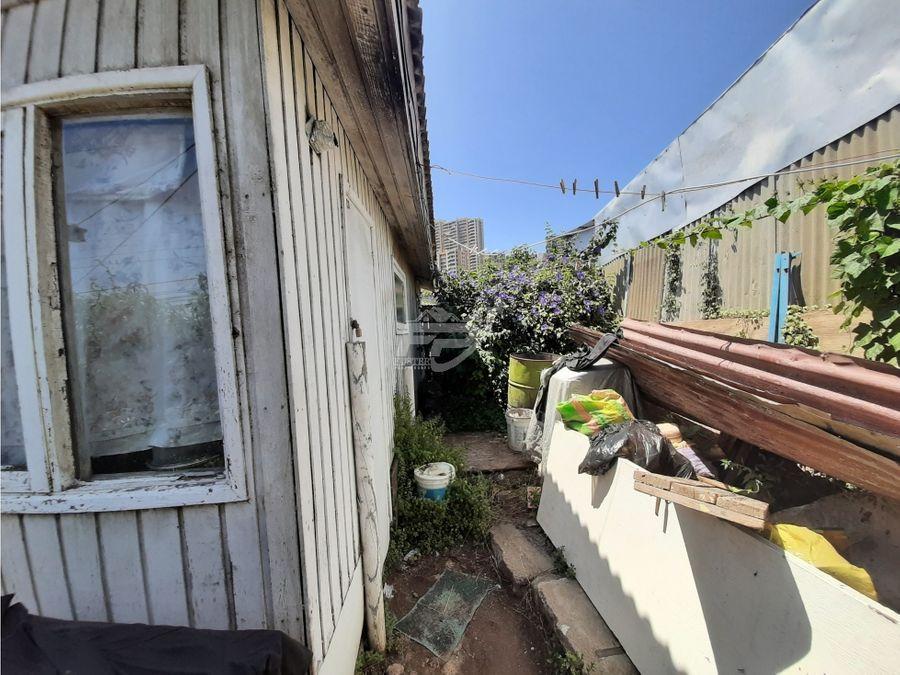 venta terreno con 3 cabanas para demolicion en vina del mar