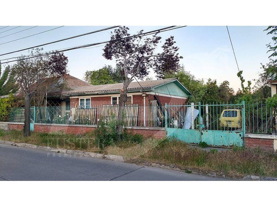 casa 3d 1b en venta poblac ferroviaria los andes
