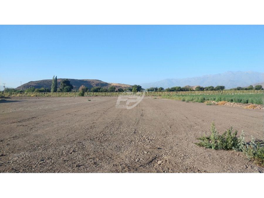 venta de 2 lotes de terreno rural agricola en calle larga