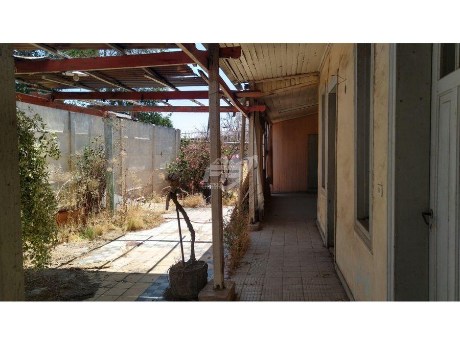 venta de terreno comercial construido en pleno centro de san felipe