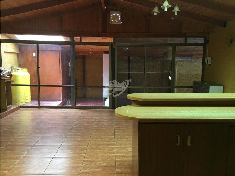 venta casa 5d 2b en los andes