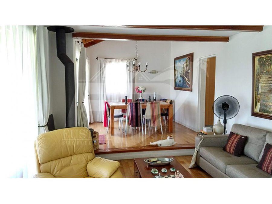 casa chilena 3d 3b en venta hacienda rinconada