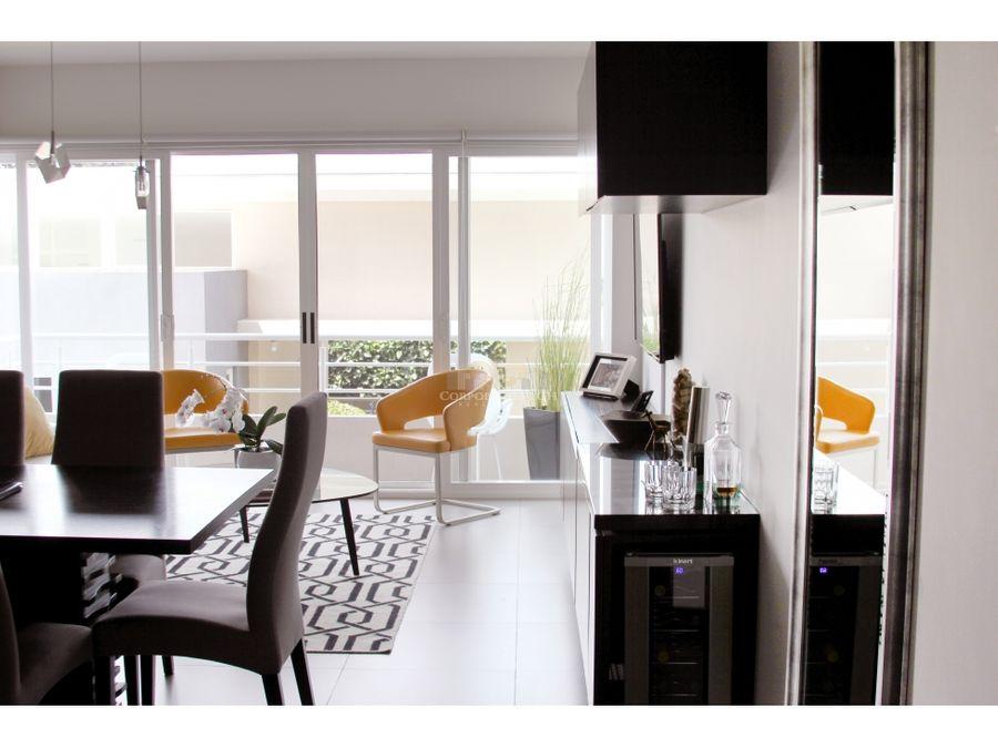 apartamento en santa ana centro en exclusivo cond con areas sociales