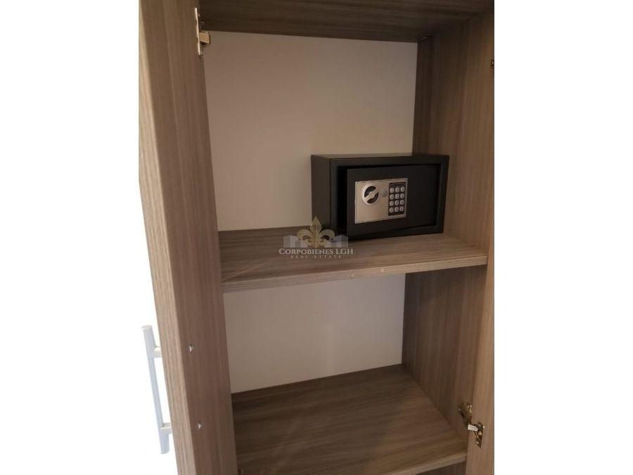 apartamento totalmente amueblado en exclusivo condominio