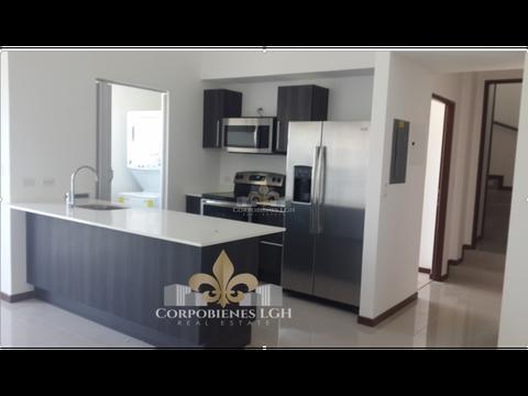 bello apartamento con 2 pisos con linea blanca en real cariari belen