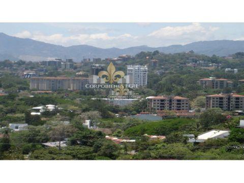 terreno 1148 m2 con hermosa vista en escazu