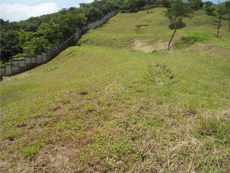 terreno con hermosa vista en cerro alto